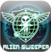 エイリアンを退治するARゲームAlienSweeperを試す - iPhone