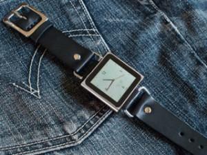 iPod nano腕時計化、第二弾since1982さんのベルト