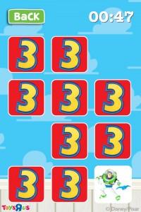 トイストーリー3のキャラクター絵合わせゲーム - Toy Story 3 Memory Match -