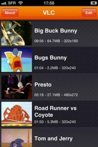 VLC Media PlayerがiPhoneも対応でユニバーサルアプリになりました。